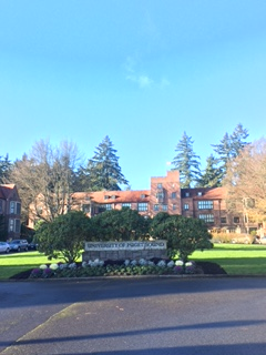 Think of your environment. University of Puget Sound in the Pacific Northwest!