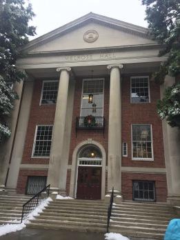 Linfield student center